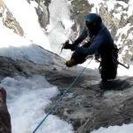 Спасение альпиниста в последнюю секунду