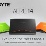 Тонкий ноутбук Aero 14 от Gigabyte