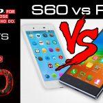 Сравнение двух смартфонов S60 и P70 от компании Lenovo