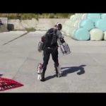 Изобретатель создал настоящий костюм «железного человека»