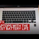 5 ноутбуков с самыми выносливыми аккумуляторами