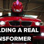 BMW превращается в машину трансформера