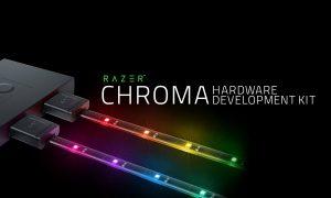 LED-лента от Razer c Chroma светом для настольного компьютера