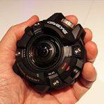 Прочная камера от Casio похожа на линзовые часы G-Shock