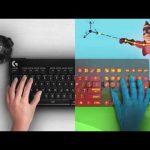 Logitech разработала виртуальную клавиатуру