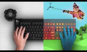 Видео: Logitech разработала виртуальную клавиатуру