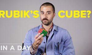 Как научиться собирать кубик-рубик за один день
