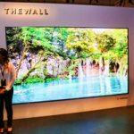 146 дюймовый модульный телевизор Samsung The Wall TV появиться в Августе