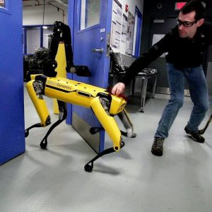 Тестирование робота SpotMini