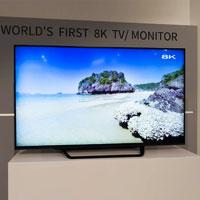 70 дюймовый Sharp 8K TV появиться в этом месяце