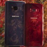 В Индии появиться бордово красный Samsung Galaxy S8