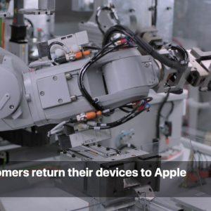 Apple создала новый робот утилизатор для iPhone