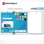 Патент от Motorola представил складывающийся смартфон с беспроводным зарядным устройством
