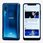 Новый флагманский смартфон ZTE Axon 9 Pro обладает выемкой