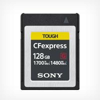 Карта памяти CFexpress от Sony работает в два раза быстрее чем самые быстрые карты памяти