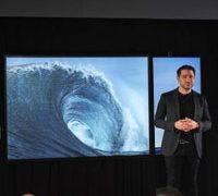 Microsoft показала 85 дюймовую модель Surface Hub 2