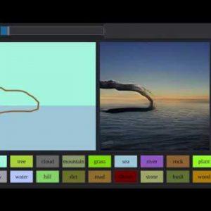 AI от Nvidia превращает грубые эскизы в реалистичные пейзажи