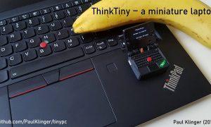 ThinkTiny самый маленький игровой компьютер