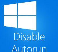 Как отключить автоматический запуск съемных носителей в Windows 10