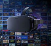 Oculus link появился как бета-версия можно подключать Quest в ПК и играть в игры Rift