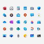 Как создавались цветные иконки для Windows 10