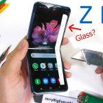 Тест твердости смартфона Galaxy Z Flip