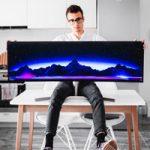 Samsung создала ультра широкий монитор, как для офисов, так и для игр