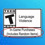 ESRB представила новый лейбл для игр где присутствуют ящики с предметами
