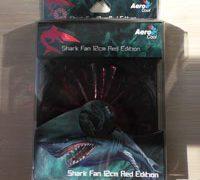 Обзор вентилятора AeroCool Shark Fan Devil Red LED