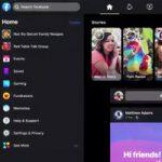 Facebook переделал приложение добавив  темный режим