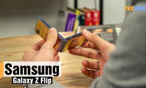Гибкий смартфон Samsung Galaxy Z Flip