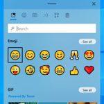 В сенсорной клавиатуре Windows 10 появились GIF, emoji и улучшенный голосовой ввод