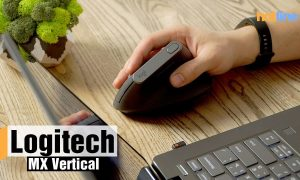 Мышь Logitech Bluetooth+Wireless MX Vertical Black