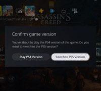 Обновление для новой игровой консоли PS5 сообщит о запуске версии игры для PS4