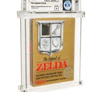 Запечатанная копия игры The Legend of Zelda была продана приблизительно за миллион долларов
