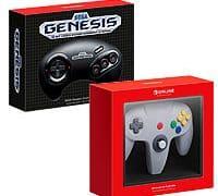 Можно заказать контроллеры Nintendo 64 и Sega Genesis для Switch